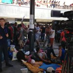 RT lindseyhilsum: Last weds #Keleti station in #Budapest had 500 refugees and us. Now thousands of refugees and do… http://t.co/ErWpCDMmfI