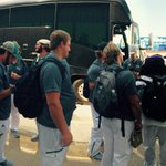 The Cats are looking ICY as they load up to head to Fresno!✈️ #ACURISE http://t.co/vNVCiPkKR0