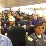 Here we come, Fresno! .@ACUFootball leaving Abilene for Cali and first game of the season. #GoWildcats #ACUE4C http://t.co/UmxRKvbcmu