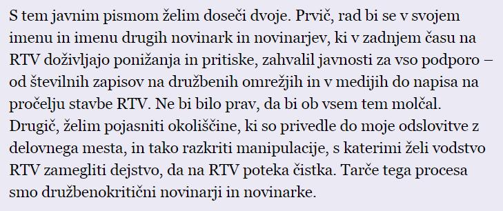 Odpuščeni novinar RTV Slovenija Erik Valenčič o razmerah v javnem zavodu RTV Slovenija: http://t.co/Mju62YQE1u http://t.co/p5sTK9Watz