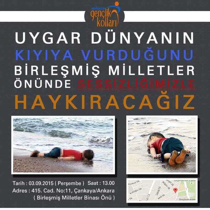 Uygar Dünyanın kıyıya vurduğunu Birleşmiş Milletler önünde sessizliğimizle HAYKIRACAĞIZ. @mnedimyamali  @kurtcanc http://t.co/IroDgAaBNz