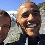 .@POTUS & @BearGrylls take a selfie during the Presidents Alaska trip. Photos via @WhiteHouse http://t.co/k9mqggKv87 http://t.co/IQmWLUDae4
