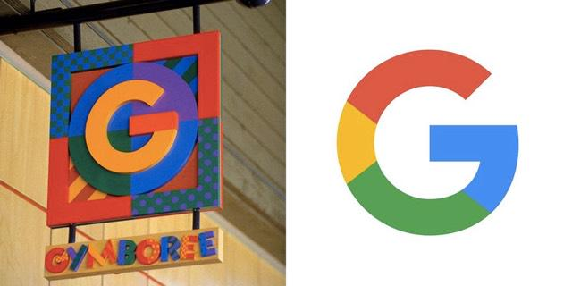 OMG. I knew the Google logo looked juvenile & familiar. Now I see why! #hilarity http://t.co/KAgdyMtcTy