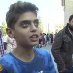 """""""Paren la guerra y no vendremos a Europa"""": la desgarradora súplica de un niño sirio [VIDEO] http://t.co/82h9bc0BcT http://t.co/VU2BVrfocd"""