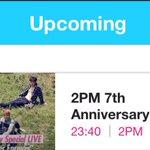 [INFO]9/3 23:40~V Live「2PM 7周年スペシャル生中継行けるとこまで行ってみよう」 Android: https://t.co/CMitD5jdgb iOS: https://t.co/0D7YCpU9jp http://t.co/HmulPIBmg2
