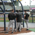 BP in Milwaukee. Were 30 min from first pitch! #LetsGoBucs http://t.co/8RznsPUjCq