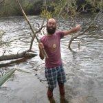 On révise les leçons de pêche de @Lesrustineslib1 ; un spot pêche juste à côté du spot dodo : c'est trop bon !