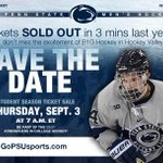Set your alarm! @PennStateMHKYs student season ticket sale is tomorrow at 7:00 AM! Ready @TheRoarZone? http://t.co/L1RWc3HC0v