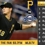 Heres our lineup for tonight. http://t.co/22MzMyZXJf #LetsGoBucs http://t.co/nwq6HMcHth