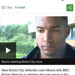 "WATCH: ""Im at the age where I need to be playing football."" #LCFC defender Liam Moore. http://t.co/4w6hmlVYtD http://t.co/aROzfjONmU"