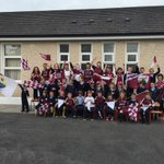 Best of luck to the Galway Hurling Teams from the staff and students of Clontuskert NS! #KKvGAL Hon the Tribesmen! http://t.co/EXLXZfIYnl
