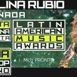 RT @Jayneraxion: Felicidades @paurubio por tu nominación a #ArtistaFemeniaFavorita en los @latinamas #LatinAmericanMusicAwards http://t.co/…