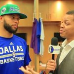 WATCH: @DeronWilliams dishes on Dallas, playing for Carlisle, Mavs Fantasy Camp & more! >>http://t.co/wEjdfWTwAL http://t.co/oELYiA59va