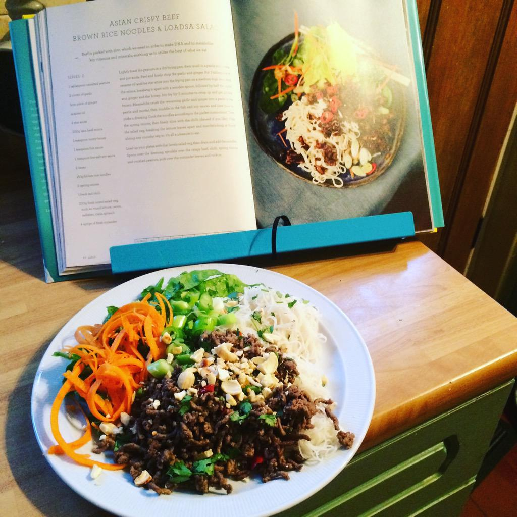 RT @HannahCroucher: Fave recipe so far @jamieoliver this was delicious http://t.co/H9PHtQ63og