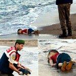 ﴿ولا تحسبن الله غافلاً عما يعمل الظالمون إنما يؤخرهم ليوم تشخص فيه الأبصار﴾ #غرق_طفل_سوري http://t.co/FYagF8euuT