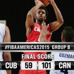 RT @FIBA: With a great offensive display, @CanBball beat Cuba in #FIBAAmericas2015   #CUBCAN Boxscore: http://t.co/erdmhBExlU