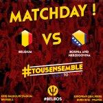 MATCHDAY! #belbos #tousensemble http://t.co/QXHWomcgOG
