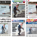 Tomorrows papers. #refugeeswelcome http://t.co/3SfylaMnNY