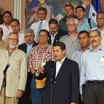 Pdte @JuanOrlandoH anuncia un plan interinstitucional para un sistema de riego para afrontar la seguía. #Honduras http://t.co/KIFSIkb2LP