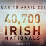 40,700 Irish left Ireland in one year. Lets embarrass the likes of Cameron and take 40,000 migrants. #Latereview http://t.co/iRr6jbb1sg