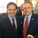 Pics from the Rubio event at OIPA http://t.co/LHQfDGnWwo