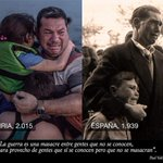 Ayer nosotros. Hoy ellos. Mañana?  #YoSoyRefugiado http://t.co/tTuThHg9Am