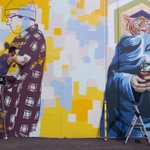 PHOTOS: @FFTTNW brings noted mural artists from around the world to Portland - http://t.co/9kqi7gUltu #PDX http://t.co/2entzJ0Kj5