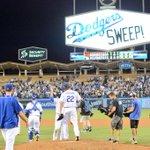 SWEEP!!!!!!!!!!!! FINAL: #Dodgers 2, Giants 1 #WeLoveLA #Whiff http://t.co/ACHjoEdZ4o