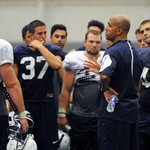 James Franklin spoke about Holuba, backup QBs and bubble guts after Wednesdays practice http://t.co/A8c7RuGSNW http://t.co/ADFpBciW62