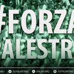 COMEÇA O JOGO! Bola rolando para Goiás e Palmeiras, no Serra Dourada! Vamos ganhar, Verdão! #AVANTIPALESTRA! http://t.co/gkENCyIxdY