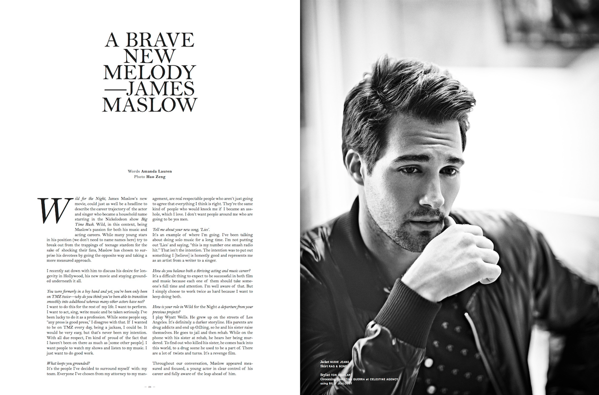 James Maslow is in featured in NO TOFU Magazine @notofu @jamesmaslow http://t.co/LbVeC2QV4L