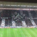 Olha só o mosaico que a torcida do @Corinthians fez! http://t.co/oFl9fQXDlc