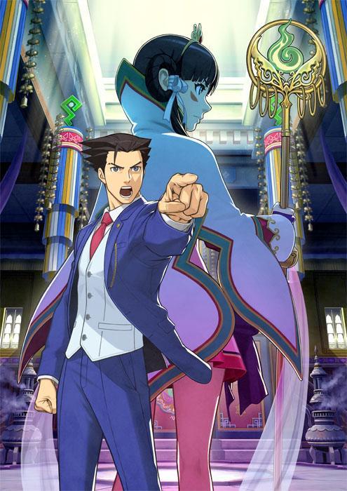 【『逆転裁判6』発表!】 前作『逆転裁判5』の発売から約2年。 待望のシリーズナンバリング最新作『逆転裁判6』が、ついに発表!東京ゲームショウ2015出展!! http://t.co/bHQfVJ00J6 #gyakuten http://t.co/GWx8keUSgy