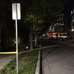 #BREAKING Crime tape @ Gables Park 17 in Uptown where woman was shot tonight. Dallas police investigating @EricPeay http://t.co/llOkG2YpUJ