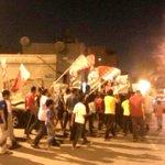 تظاهرة للأهالي في #أبوصيبع و#الشاخورة تضامناً مع الرموز المعتقلين #Bahrain #Alwefaq #FreeSheikhAli http://t.co/kjWeVMK5IK