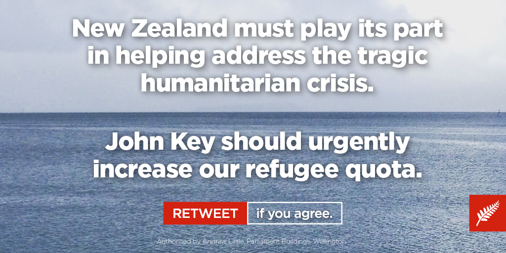 This is an issue of moral leadership and who we are as a country. John Key must do the right thing now. http://t.co/2BMYdZ83m1