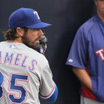 Cole Hamels takes the mound in the bottom of the 1st looking for his 3rd win in as many starts. http://t.co/wV1iv6mbjr