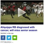 Please pray for DB aliquippa running back diagnosed with cancer. God bless you brotha. Lot... https://t.co/PvK9OikEJK http://t.co/0oY3xidLcK