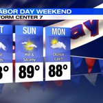 LABOR DAY WEATHER: Get an early look at the forecast for the 3-day holiday weekend http://t.co/9yPxaivXNO http://t.co/kZ9Crg4MtB