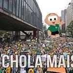 Torcedor do Fluminense reclamando da arbitragem. http://t.co/uKIJEEyZAe