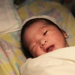 Baby Matti is here!???????? Thank you for your prayers!???????? mawitness na nya ang tamang panahon!???? #ALDUB7thWEEKSARY http://t.co/TEvUOXLerf