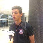 """""""Não precisa fazer gol para ficar mais bonito. Só de vestir essa camisa já fico bonito"""", diz Marciel. #trsccp http://t.co/H9unIiwki8"""