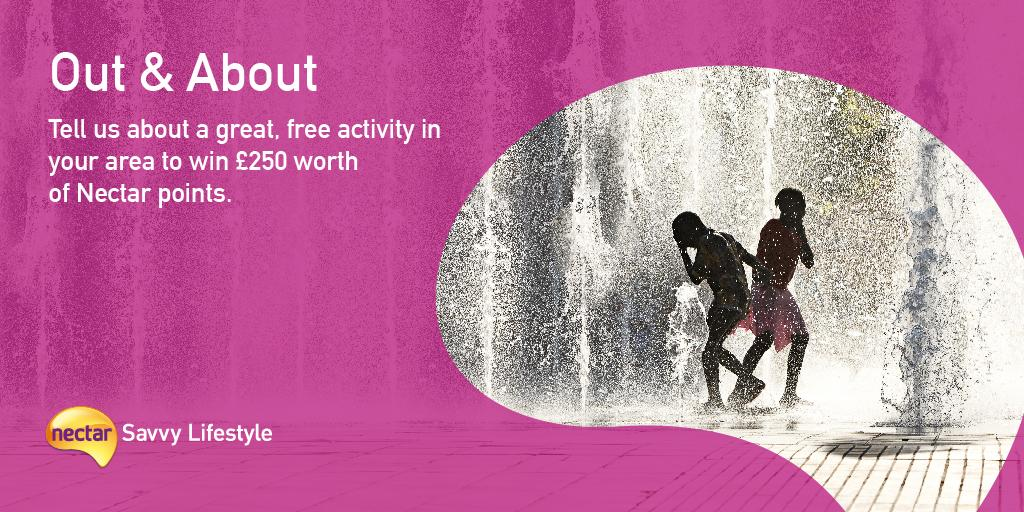 Tell us about a free activity in your area to win Nectar points! Enter by tweeting @nectar using #NectarLifestyle. http://t.co/Lqj7QeGt26