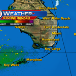 Grab the umbrellas! We are starting the AM dry, but rain & storms are expected during the PM. @wsvn http://t.co/qRAlJ88bCB