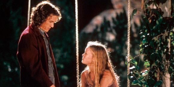 Filme do dia: 10 COISAS QUE EU ODEIO EM VOCÊ de Gil Junger com Heath Ledger e Julia Stiles. No http://t.co/bGyJOxWRnj http://t.co/Ii7pMFAq9G