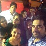 And selfie time wt @iamhumayunsaeed and @shufta20 .