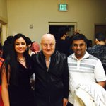 RT @j11tweets: Thanks @AnupamPkher for powerful acting and ultra pleasant evening. You make theater look great#MeraWohMatlabNahiTha
