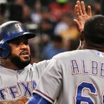 With Astros loss, @Rangers pull within TWO games of top spot in AL West: http://t.co/eMYGsqiLEs http://t.co/EbCoAWNQb0