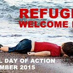 National #RefugeesWelcome Here Day of Action and London demonstration 12 Sept http://t.co/Fgk81ryOZL http://t.co/zRlmfnj4GA