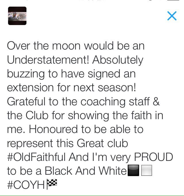 Thank You for the messages! Proud to be a Black & White◼️◻️ http://t.co/pyhe4p3lOs